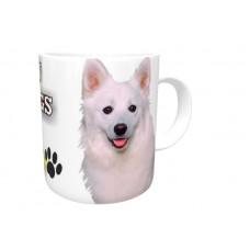 American Eskimo  DOG Ceramic Mug 10fl oz   10