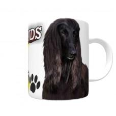 Afghan Hound (Black) DOG Ceramic Mug 10fl oz   2