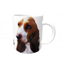 Basset Hound  DOG Ceramic Mug 10fl oz   22