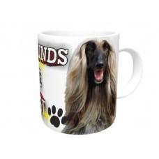 Afghan Hound (Blonde) DOG Ceramic Mug 10fl oz   3