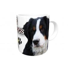 Bernese Mountain DOG Ceramic Mug 10fl oz   30