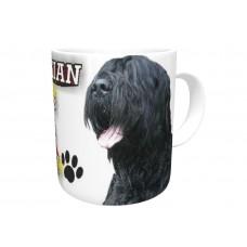 Black Russian Terrier DOG Ceramic Mug 10fl oz   32