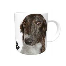 Borzoi Brindle DOG Ceramic Mug 10fl oz   37