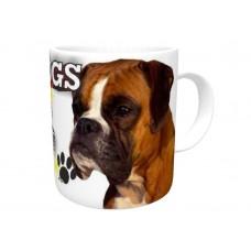 Boxer (adult )  DOG Ceramic Mug 10fl oz   42