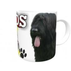 Briard (Black)  DOG Ceramic Mug 10fl oz   46