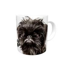 Brussels Griffon (Black) DOG Ceramic Mug 10fl oz   49