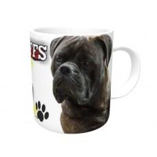 Bullmastiff (Brindle) DOG Ceramic Mug 10fl oz   52