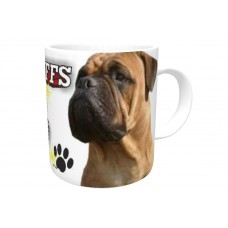 Bullmastiff (Tan) DOG Ceramic Mug 10fl oz   53