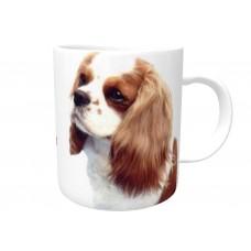 Cavalier King Charles Spaniel (live and White)  DOG Ceramic Mug 10fl oz   59