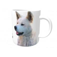 Akita (white coloured)  DOG Ceramic Mug 10fl oz   6
