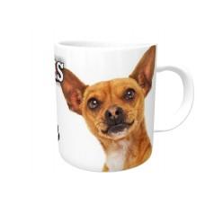 Chihuahua (Brown SH)  DOG Ceramic Mug 10fl oz   62
