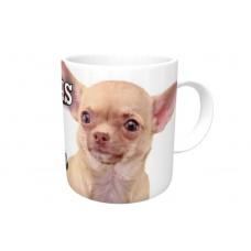 Chihuahua (Light Brown SH)  DOG Ceramic Mug 10fl oz   63