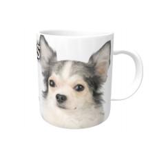 Chihuahua (WT & BK LH)  DOG Ceramic Mug 10fl oz   65
