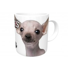 Chihuahua (White SH)  DOG Ceramic Mug 10fl oz   68