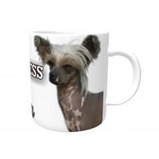 Chinese Crested Hairless DOG Ceramic Mug 10fl oz   69