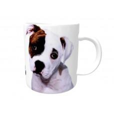 American Bulldog  DOG Ceramic Mug 10fl oz   7