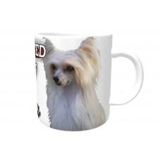 Chinese crested Powder puff  DOG Ceramic Mug 10fl oz   70