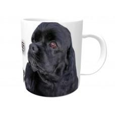 American Cocker Spaniel (Black coloured)  DOG Ceramic Mug 10fl oz   8