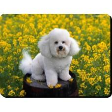 Boxer dog (White dog) Dog Mousemat   41