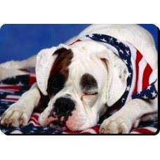 American Bulldog  Dog Mousemat   7
