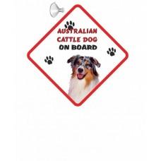 Australian Cattle  Hanging Car Sign   17