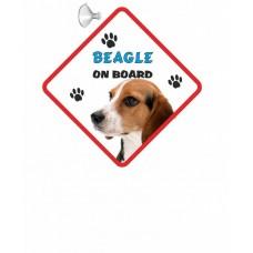 Beagle  Hanging Car Sign   24