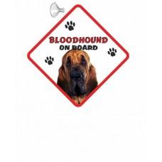 Bloodhound  Hanging Car Sign   33