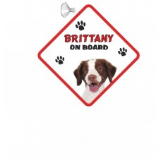 Britanny  Hanging Car Sign   48