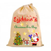 Christmas Eve Bag - Personalised - Design 2